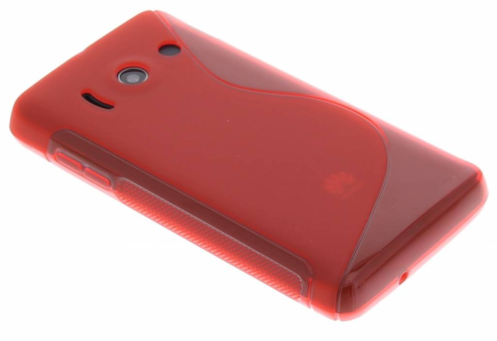 Rood TPU S-Line hoesje voor de Huawei Ascend Y300