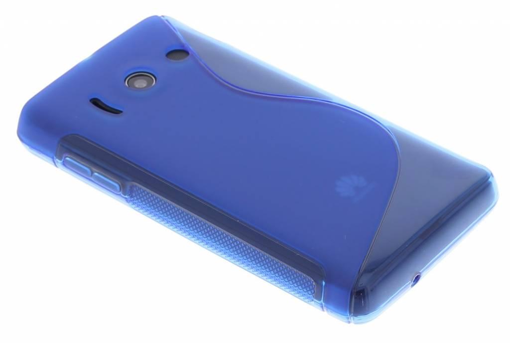 Blauw TPU S-Line hoesje voor de Huawei Ascend Y300
