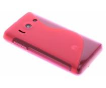 Rosé TPU S-Line hoesje Huawei Ascend Y300