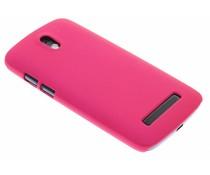 Fuchsia effen hardcase HTC Desire 500