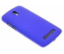 Blauw effen hardcase HTC Desire 500