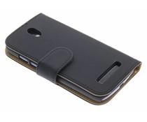Zwart booktype hoes HTC Desire 500