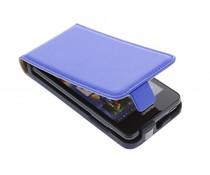 Blauw luxe flipcase Huawei Ascend Y300