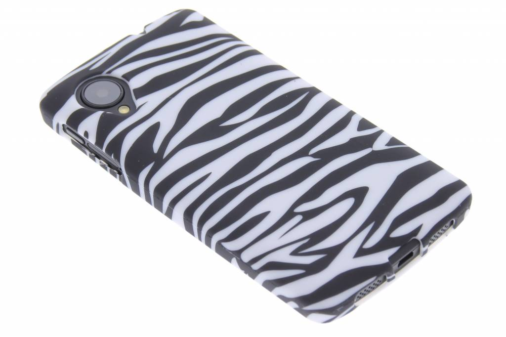 Zebra TPU siliconen design hoesje voor de LG Nexus 5