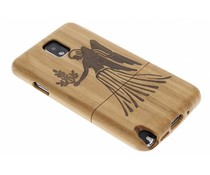 Sterrenbeeld houten hardcase Samsung Galaxy Note 3