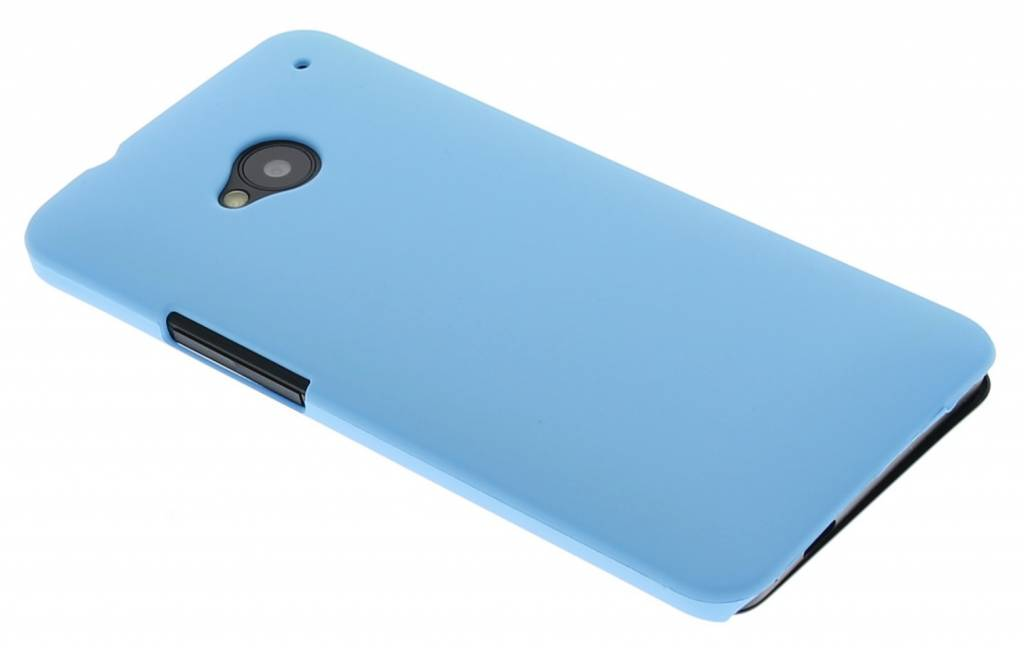Turquoise effen hardcase hoesje voor de HTC  One