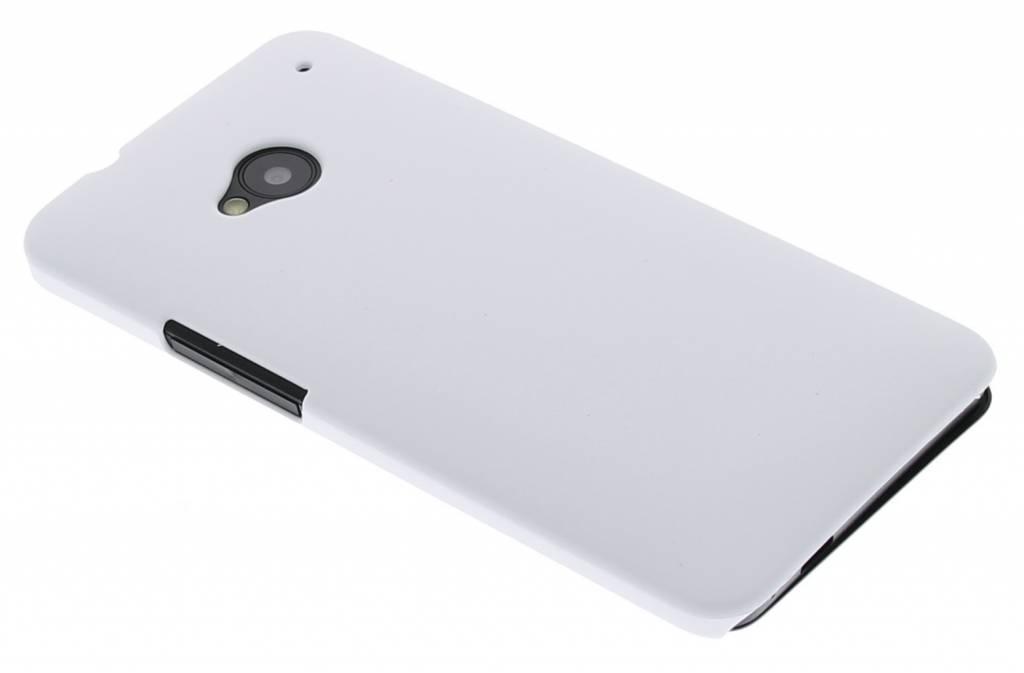 Wit effen hardcase hoesje voor de HTC  One