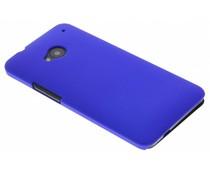 Blauw effen hardcase HTC One