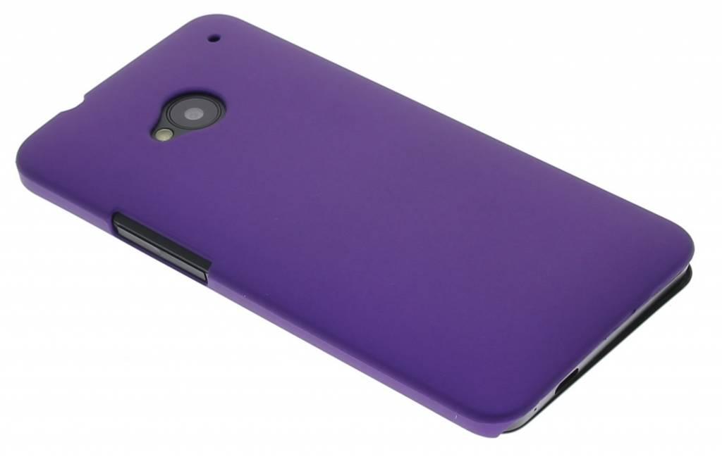 Paars effen hardcase hoesje voor de HTC One