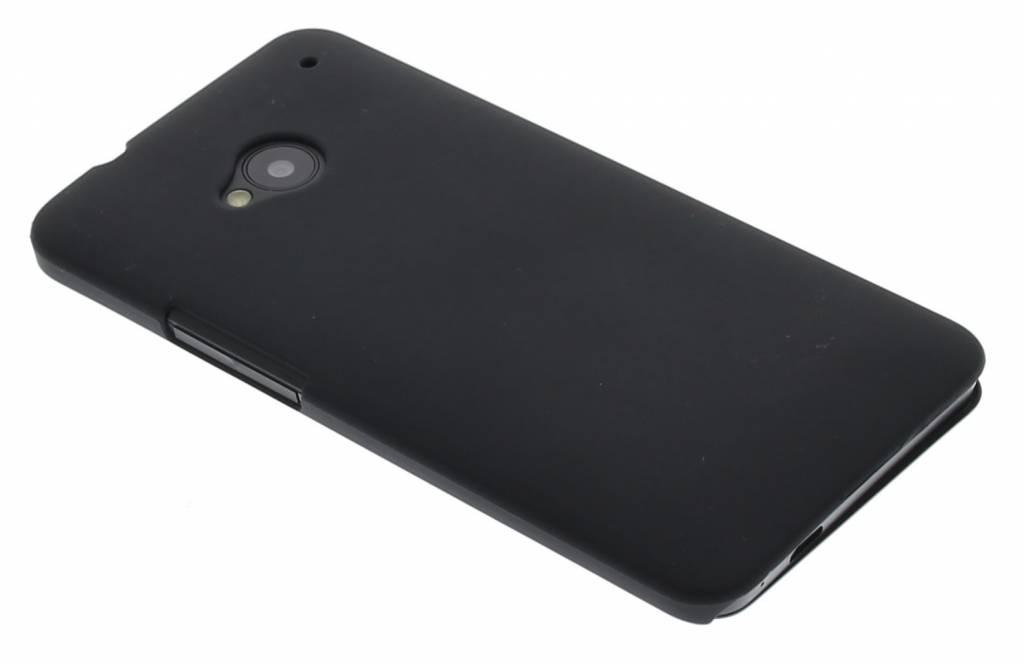 Zwart effen hardcase hoesje voor de HTC  One