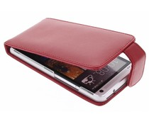 Rood stijlvolle flipcase HTC One