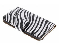 Zebra booktype hoes HTC One