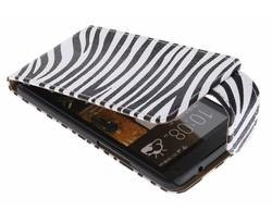 Zebra flipcase HTC One