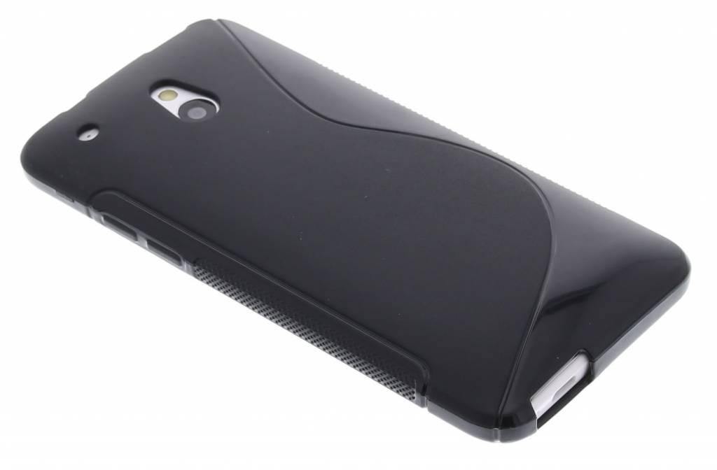 Zwart TPU S-Line hoesje voor de HTC One Mini