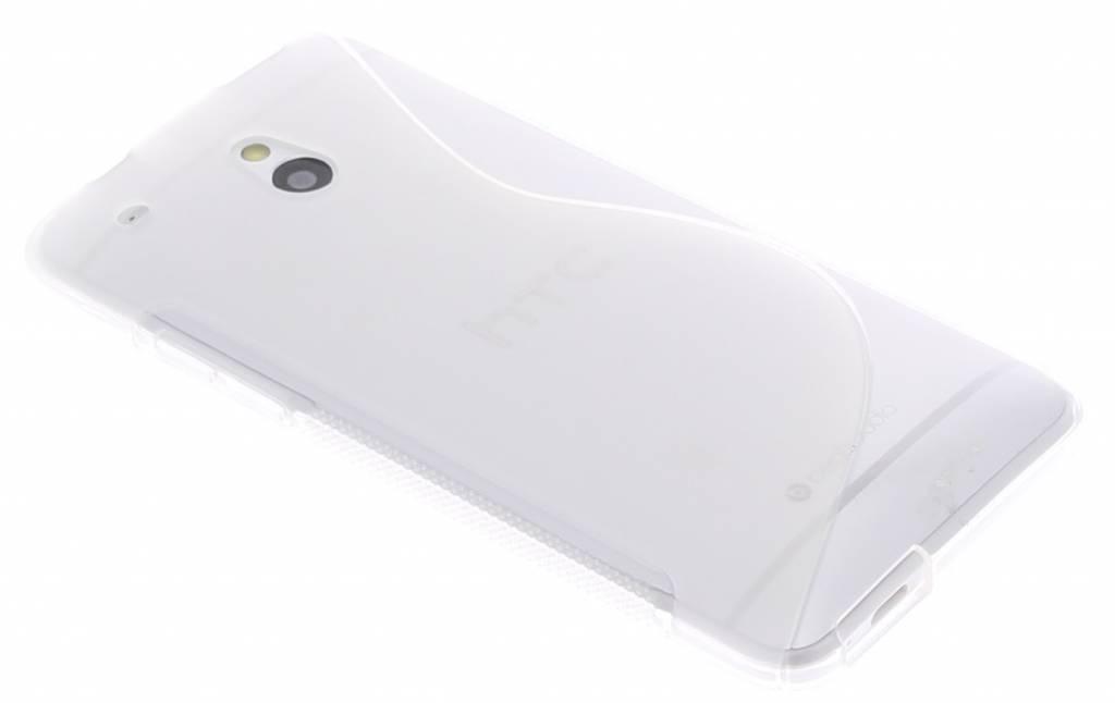 Transparant TPU S-Line hoesje voor de HTC One Mini