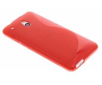 Rood TPU S-Line hoesje HTC One Mini