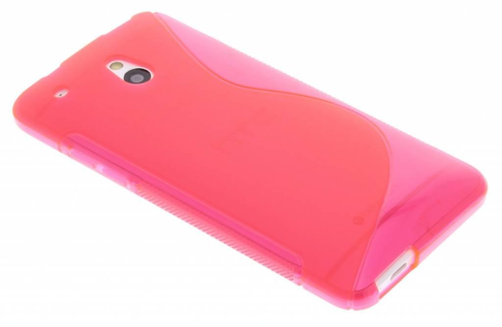 Rosé TPU S-Line hoesje voor de HTC One Mini