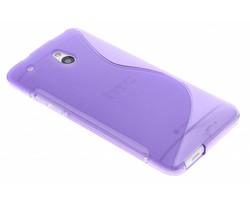 Paars TPU S-Line hoesje HTC One Mini