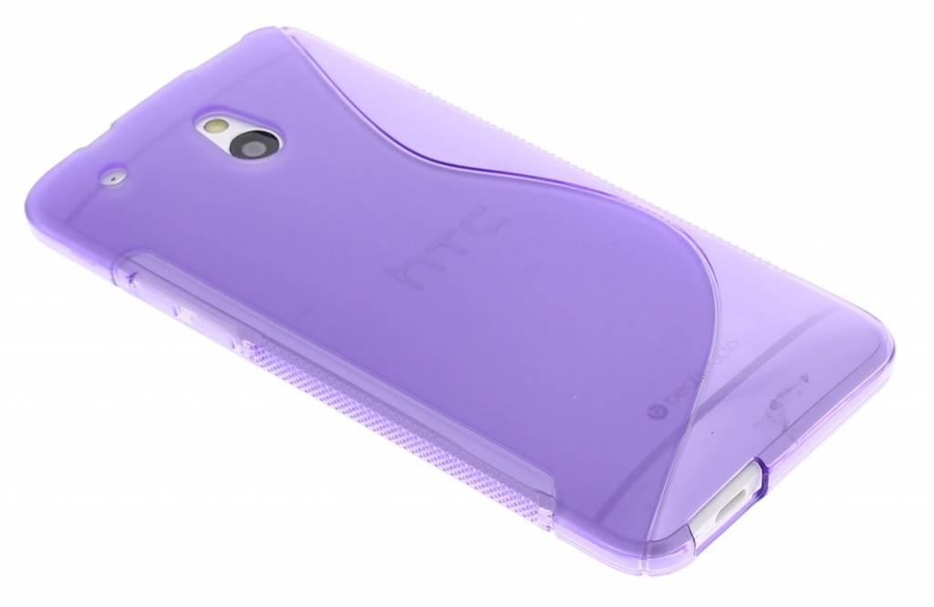 Paars TPU S-Line hoesje voor de HTC One Mini