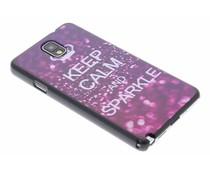 Keep Calm design hardcase Samsung Galaxy Note 3