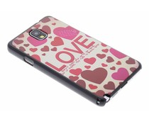 Love design hardcase Samsung Galaxy Note 3