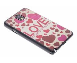 Love design hardcase Samsung Galaxy Note 3