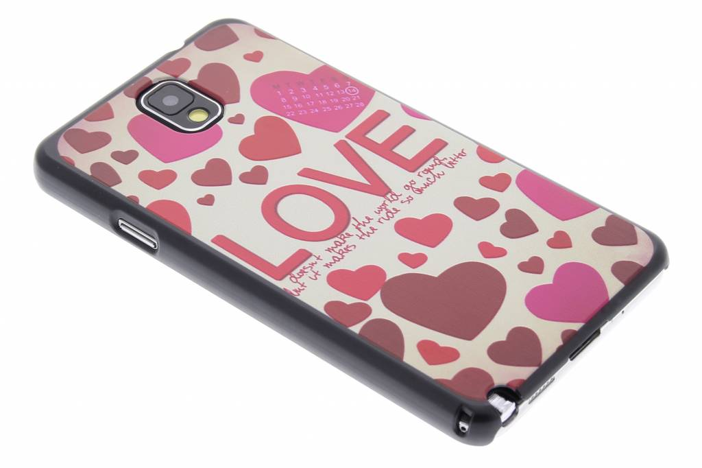 Love design hardcase voor Samsung Galaxy Note 3