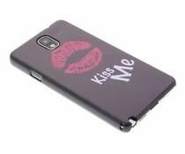 Kiss Me design hardcase Samsung Galaxy Note 3