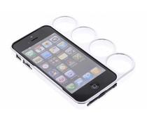 Zilver boksbeugel bumper iPhone 5 / 5s / SE