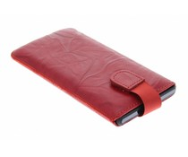 Mobiparts Uni Pouch Smoke maat 3XL - rood