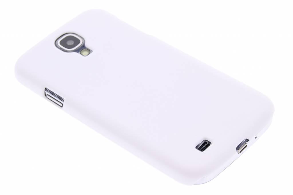 Witte effen hardcase voor de Samsung Galaxy S4