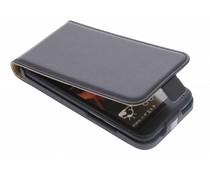 Zwart luxe flipcase HTC Desire 601