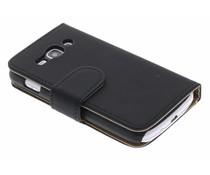 Zwart booktype hoes Samsung Galaxy Ace 3