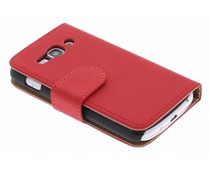 Rood booktype hoes Samsung Galaxy Ace 3