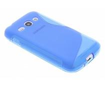 Blauw S-line TPU hoesje Samsung Galaxy Ace 3