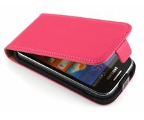 Fuchsia luxe flipcase Samsung Galaxy Ace 2