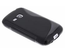 Zwart S-Line TPU hoesje Samsung Galaxy Young