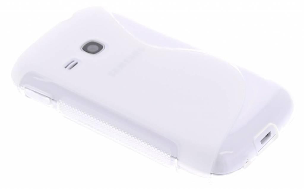 Transparant S-Line hoesje voor de Samsung Galaxy Young s6310