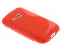Rood S-Line hoesje Samsung Galaxy Young