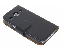 Zwart effen booktype Samsung Galaxy Core