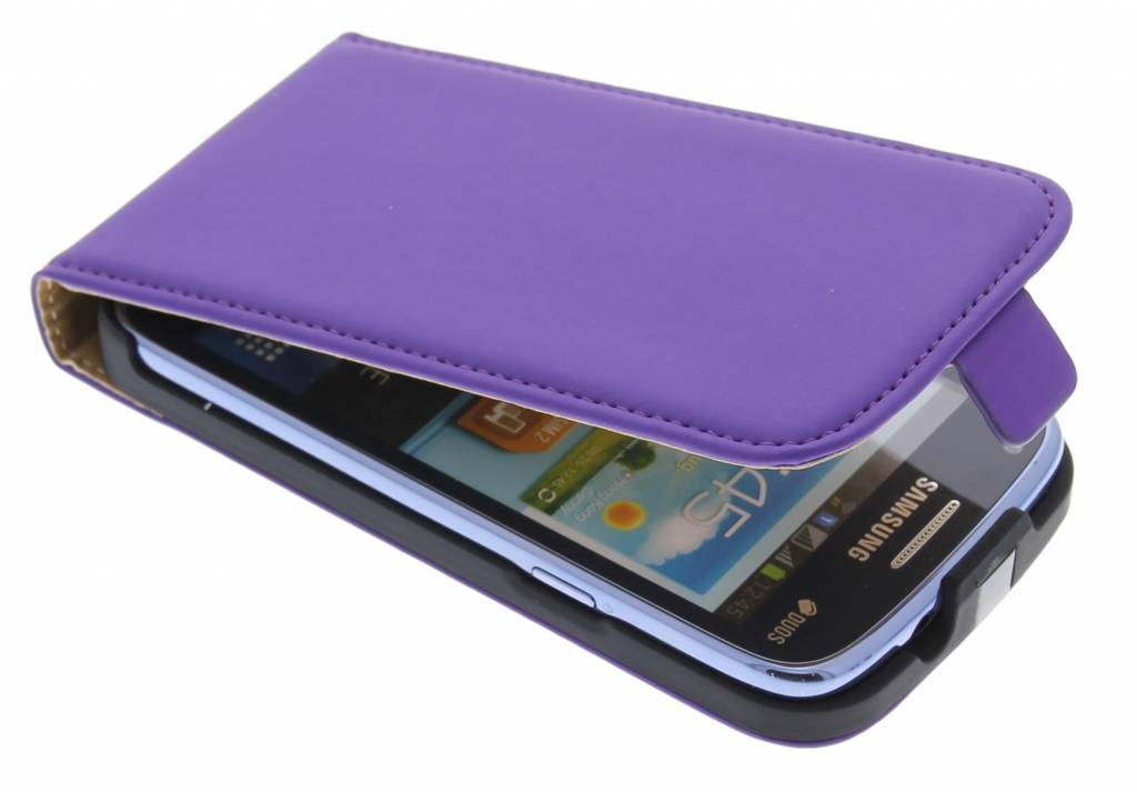 Mobiparts Premium Flipcase voor de Samsung Galaxy Core - Purple
