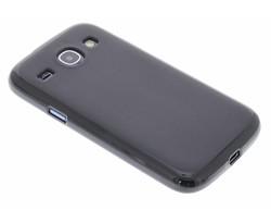Zwart hard siliconen hoes Samsung Galaxy Core