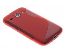 Rood S-line TPU hoesje Samsung Galaxy Core