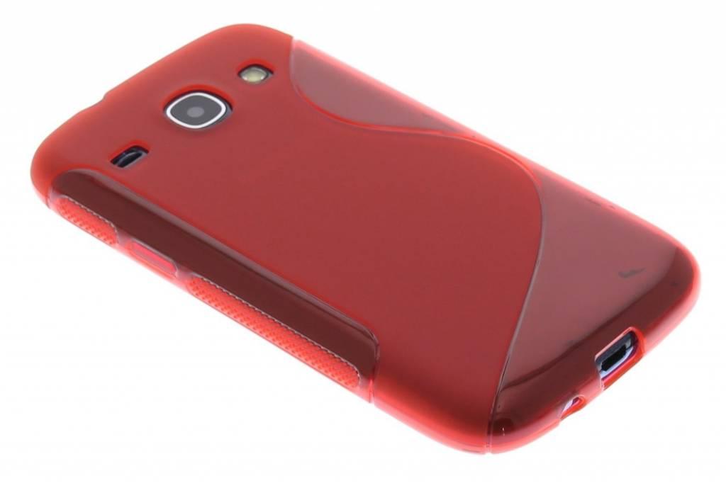 Rood S-line TPU hoesje voor de Samsung Galaxy Core