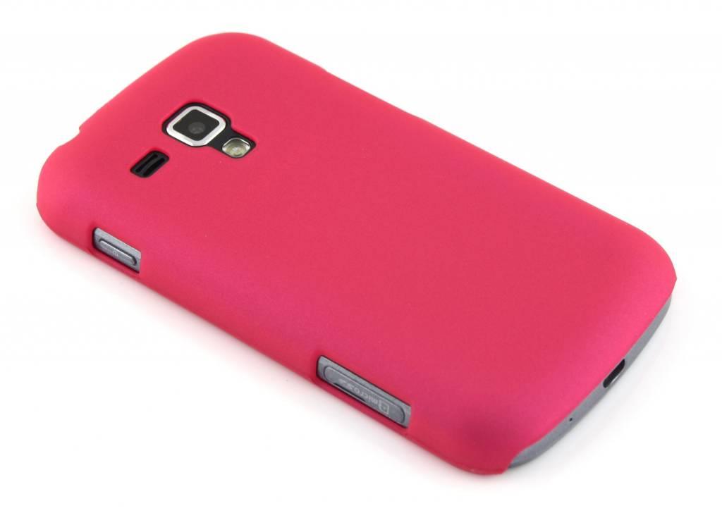 Matte fuchsia hardcase voor de Samsung Galaxy S Duos / Trend (Plus)