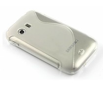 Transparant S-line TPU hoesje Galaxy Y