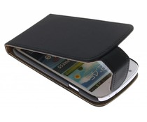 Zwart Classic flipcase Samsung Galaxy Express