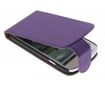 Paars Classic flipcase Samsung Galaxy Express