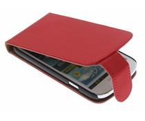 Rood classic flipcase Samsung Galaxy Express