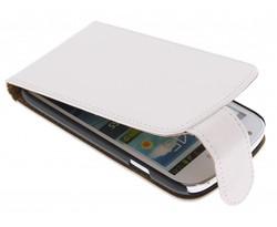 Wit classic flipcase Samsung Galaxy Express